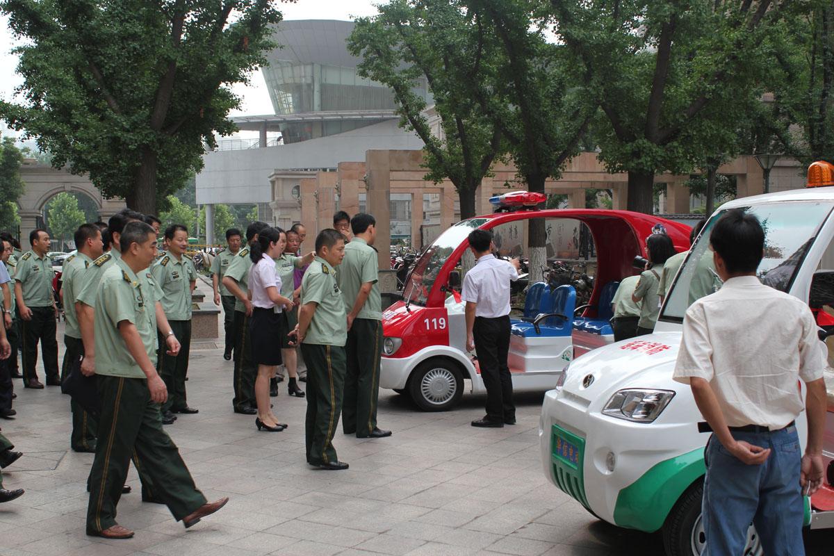 瑶海消防演习