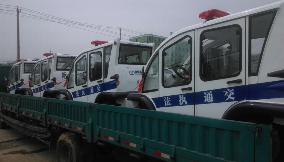 湖北孝感-电动巡逻车