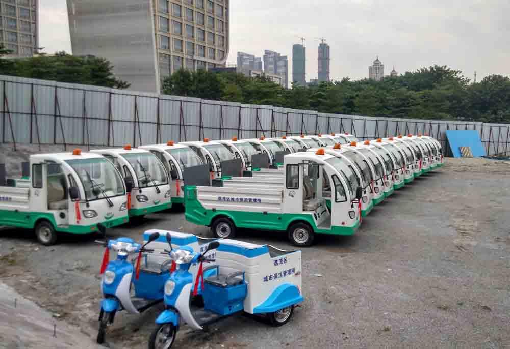 广州荔湾区电动环卫车