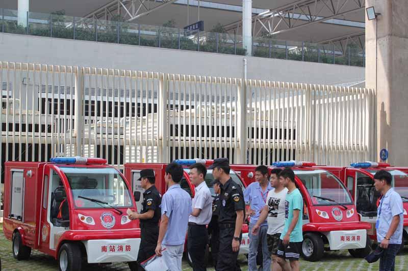 合肥南站电动消防巡逻车