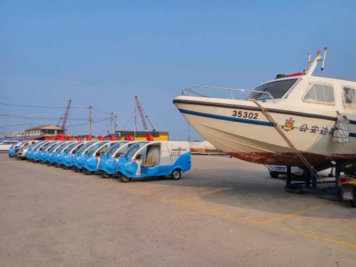 福建湄洲岛垃圾中转车